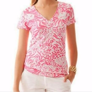 Lilly Pulitzer XS Get Spotted Shirt